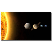 Milky Way Universe Galaxy Art Silk Poster