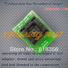 ХНВ-корпусов QFP-MPU51 программист адаптер QFP44-DIP40 адаптер/гнездо IC/ИК тест гнездо
