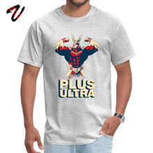 Plus Ultra 2019 Hot Sale Casual Tops T Shirt O-Neck Summer My Hero Academy Fabric Wrestling Sleeve Tshirts for Men Family