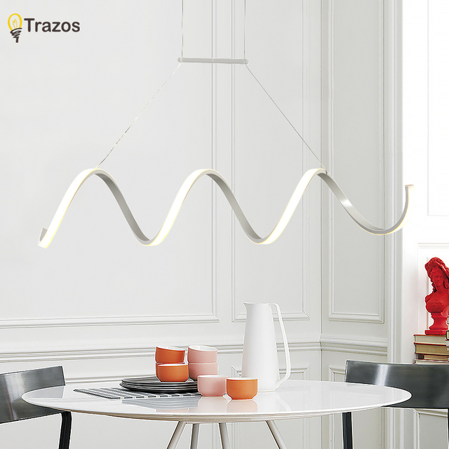 negozio online moderno led lampadari luce per sala da pranzo ... - Luce Per Camera Da Letto