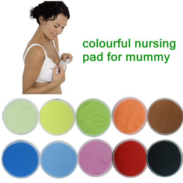 Free Shipping Galactorrhea Washable Nursing Breast Pads For Mommy Cotton Breast Feeding 24pcs/lot
