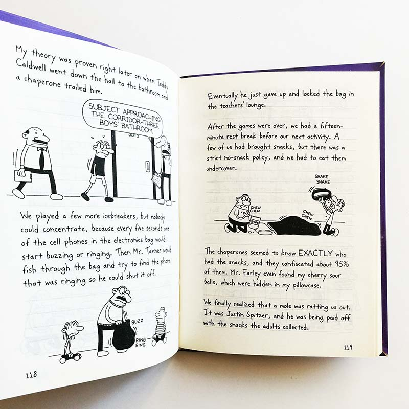 Diary Of A Wimpy Kid 9 10 The Ugly Truth Simplified Chinese And