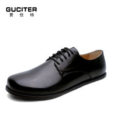 High grade hand made classic leisure shoes barefoot shoes casual shoes man without heel men s