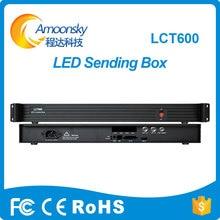 Amoonsky AMS-LCT600 Támogatás MSD600 küldő kártya Külső LED kijelző küldő vezérlő doboz hasonló mctrl600 küldő box