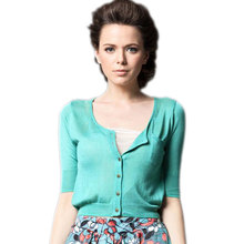 Buy cropped cardigan and get free shipping on AliExpress.com