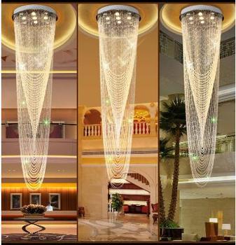 LED תקרת אורות הר פלאש K9 קריסטל תאורה מודרני סלון משרד מסדרון תקרת מנורות 110-220 v כולל נורות