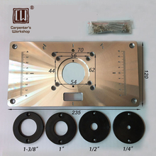 Buy router table plate and get free shipping on aliexpress router table insert plate with 4 snap out ringschina greentooth Gallery