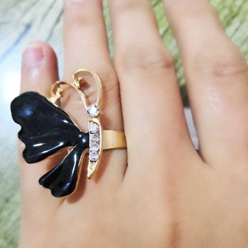 Золотое кольцо оптом много объемных колец для женщин Открытое кольцо Сладкая мода дикая Женская Ручная бижутерия