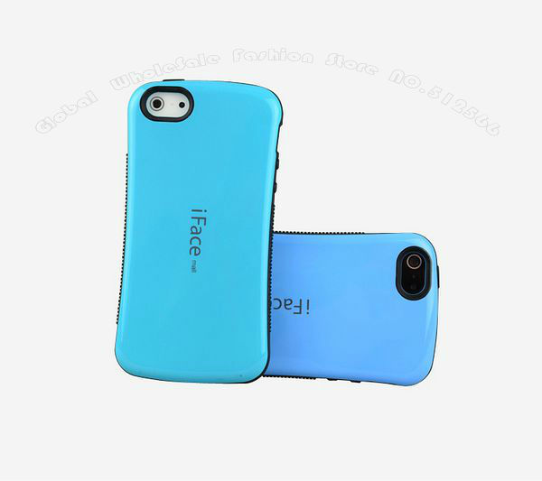 New Fashion iFace Mall Case For iphone 5 5G ,Korea Style Candy Color ,Nice and Top Quality,Free shipping
