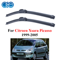 OGE Windshield Wiper Blades For Citroen Xsara Picasso 1999-2005, 26''+26''R Pair Rubber Car Wipers Windscreen Accessories Auto