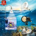 LED lamp bracket  Aluminum Alloy lamp hanger   adjustable height Goldfish Aquarium seawater freshwater