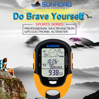 Digital GPS Altimeter Barometer Compass Hiking Survival Military Compass Portable Outdoor Camping Hiking Climbing Altimeter