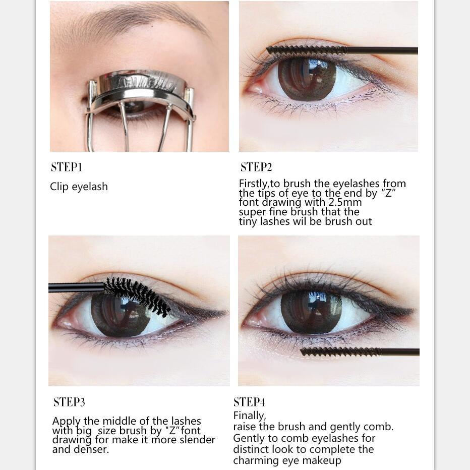 2198ae3dea9 Aliexpress.com : Buy Music Flower Double Lengthening Mascara Silk Fiber &  Mascara Black Thick Waterproof Longlasting Curling Smudgeproof Dropshipping  from ...