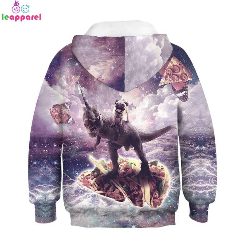 b1276b860 ... New Kids Hoodies 2019 Rainbow Sloth Alpaca Print 3D Autumn Winter  Clothes For Children Pullover Girls ...