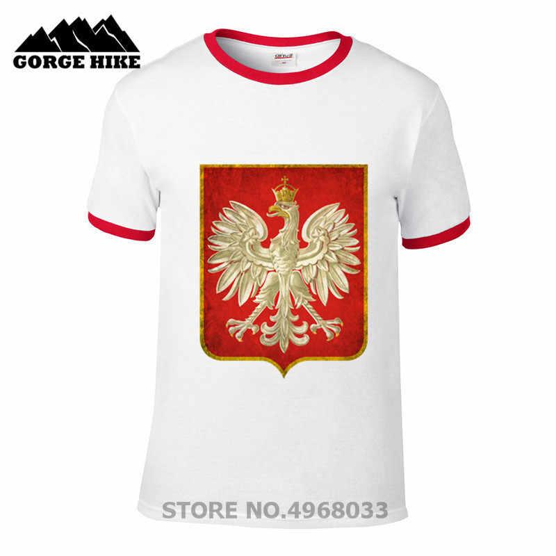 Hombre 漫画ポーランドポーランドイーグル楽しい tシャツ男性 jollypeach 真新しい白半袖 Tシャツカジュアルオムスリムフィット t シャツ