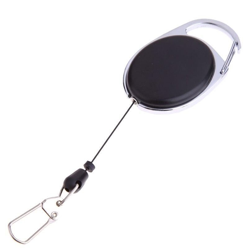 Mini Protable Adjustable EDC Tool Keychain Telescopic Spring Type Key Ring Outdoor Sports Tools Camping Hiking Keys Travel Kits