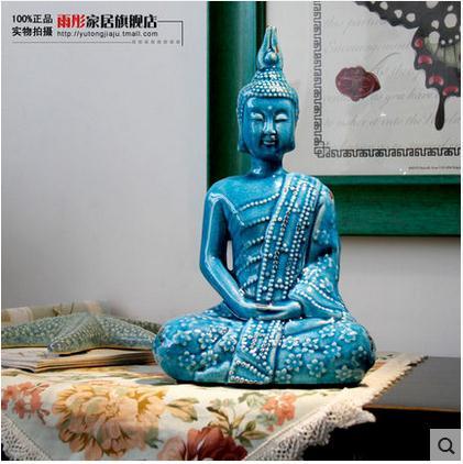 Online kopen wholesale porselein boeddha beeldje uit china porselein boeddha beeldje groothandel - Decoratie volwassen kamer zen ...