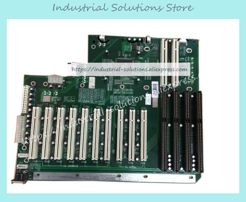 Original PCA-6114P10-B REV.B1 IPC Base Plate 100% Tested Work Perfect 10 PCI slot 4 ISA slot цены онлайн