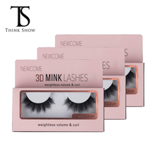 Thinkshow 26 Style 3D Real  Mink Eyelash Makeup Beauty Mink Lash Hot False Eyelash Natural Handmade Popular Thick Fake Lash