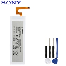 цена на Original Replacement Sony Battery For SONY Xperia M5 E5603 E5606 E5663 E5653 Authentic Phone Battery 2600mAh