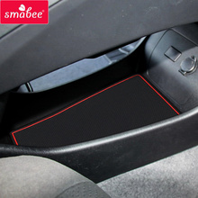 Gate slot mats For Toyota PRIUS 2012-2015 30 A series of AQUA Anti Slip Mat Pad/Cup Door groove mat