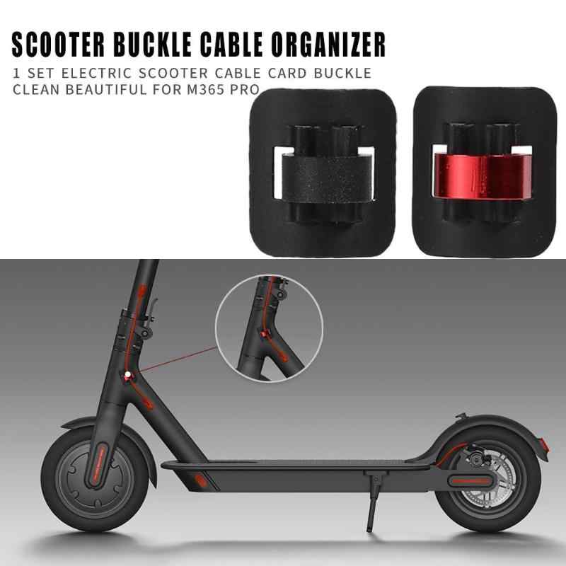 1pcs Electric Scooter Cable Tie Buckle Organizer For Xiaomi M365 and M365 PRO Electric Scooter Skateboard Accessories