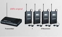 TAKSTAR UHF Wireless In Ear Stage Monitor System In Ear Stage Wireless Monitor System 4 Receiver + 1 Transmitter WPM 200