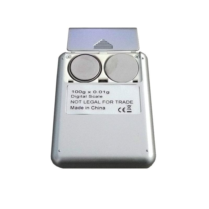 100 g * 0,01 g mini elektroninė skaitmeninė aukso skalė 0,01 g - Matavimo prietaisai - Nuotrauka 5