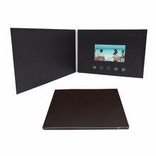4.3 pouces nouvelles cartes de Brochure vidéo pour les présentations lecteur de publicité numérique 4.3 pouces écran vidéo voeux