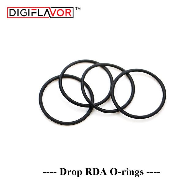 Digiflavor drop RDA seal rings o ring for Drop RDA e cigarette ...
