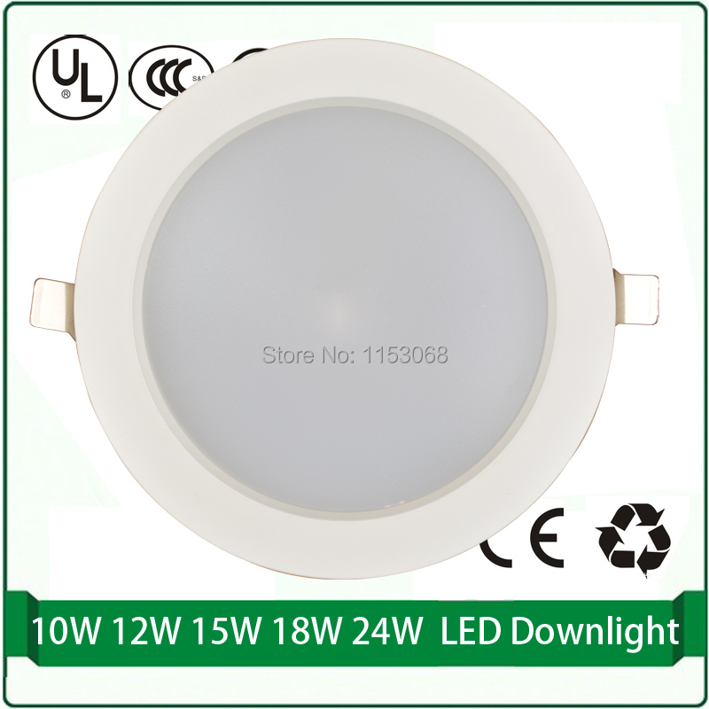 ⃝Led downlight 5 W 10 W 12 W 15 W 18 W 24 W LED downlights envío ...