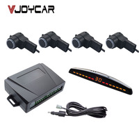 China Top Quality Digital Parking Sensor For All Brand Car Truck LED Display And 4 Sensors