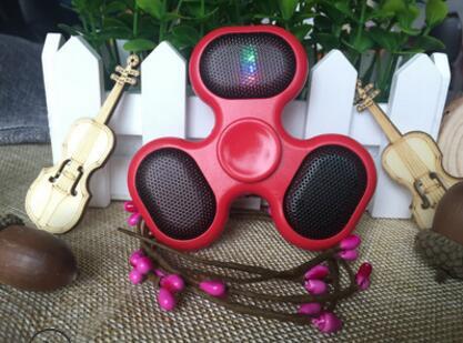 Foleto 2018 Latest Explosion Models Bluetooth Fingertip Gyro Wireless Mini Speaker Fidget Spinner Adult Decompression ToyBluetoo