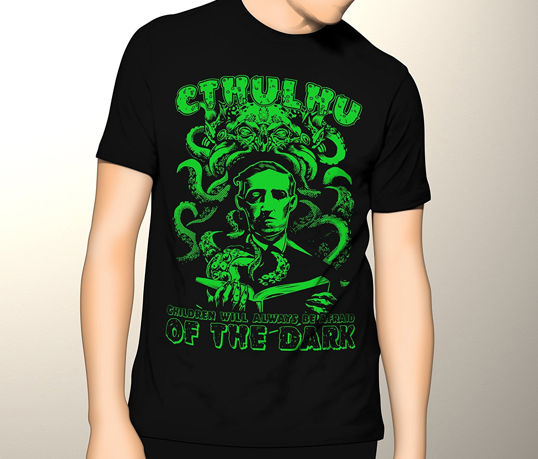 Cthulhu Shirt H.P. Lovecraft Horror Premium Graphic T-Shirt