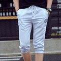 HCXY 2017 Novos Homens Calções Marca de Verão Curto Ocasional Harlan Shorts dos homens de alta qualidade calções tarja produtos Quentes livre grátis