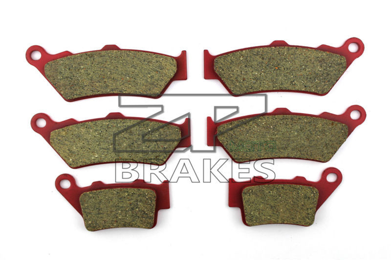 Ceramic Brake Pads Front + Rear For DTCATI GT1000 Touring/Sport Classic 992cc 2007-2010 OEM New High Quality ZPMOTO motorcycle brake pads ceramic composite for triumph 800 tiger 2011 2014 front rear oem new high quality zpmoto