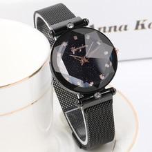 2018 Top Luxury Brand lady Crystal Watch Women Dress Watch Fashion Rose Gold Quartz Watches Female Stainless Steel Wristwatches