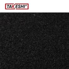 100″x80″ 255cmx200cm Black Sound Deadener Durable Noise Control Covers Carpet Insulation Car RV Boat Underfelt Mat Pad