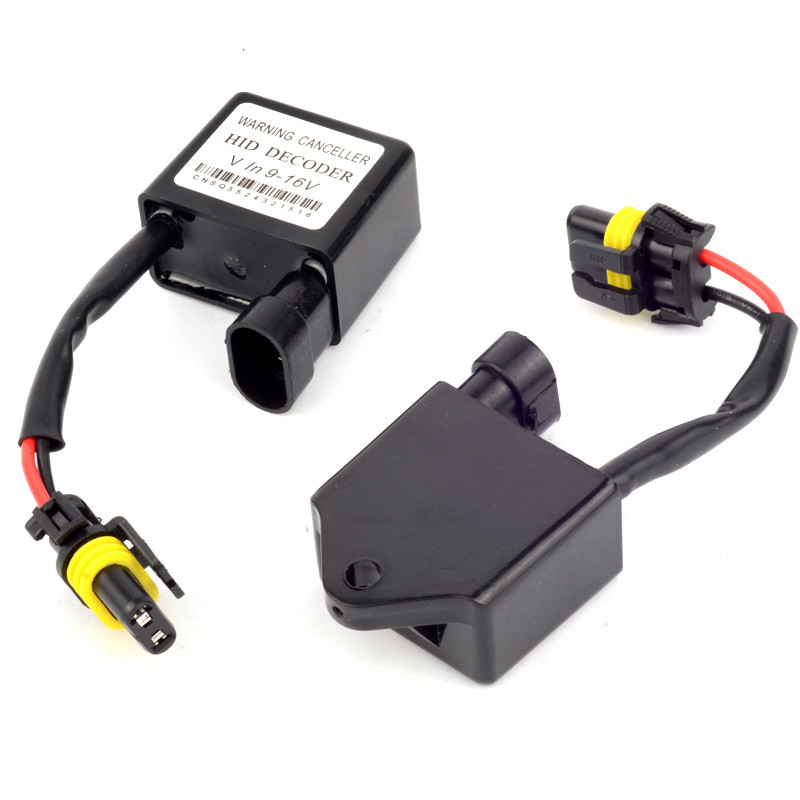 One Pair C7 CANBus Warning Error Decoder/Canceller For Xenon HID H1, H3, H3C, H4, H7, H8, H9 Proficient Test Tool c7 hid can bus car xenon light error warning canceller decoder capacitor canbus capacitors computer decoder