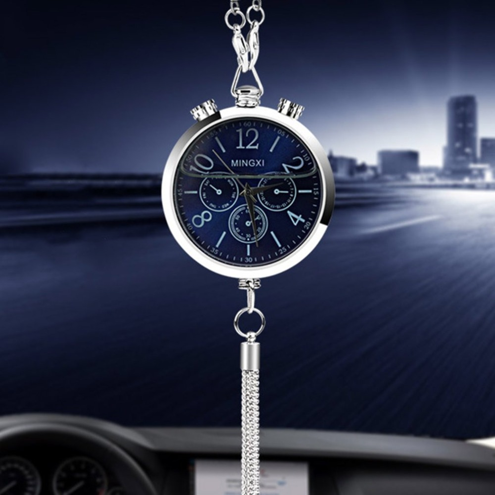 New Clock Design font b Car b font Perfume font b Car b font Interior Mirror