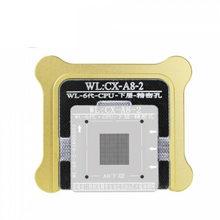 Wl kit de estêncil para reballing bga, para iphone 6g 6s 7g 8g x xs xsmax a7 a8 a9 a10 a11 a12 a13 cpu inferior de solda