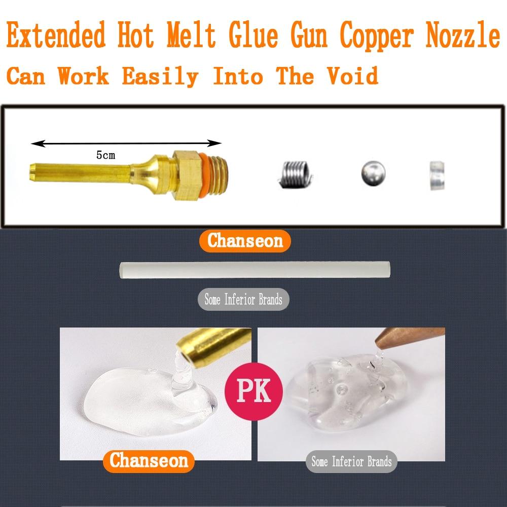 150W karšto lydymosi klijų pistoletas 11 mm klijų lazdelė - Elektriniai įrankiai - Nuotrauka 4