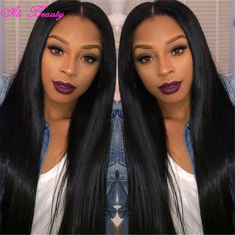 Ali Grace Hair Products Brazilian Straight Hair 4 Bundles