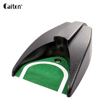 Caiton Golf automatic putting cup Indoor golf hole putt auto returning practice training