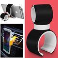 new arrival brand Multi-function Mobile Phone Holder Elastic TPU steel sheet use for car bike and home
