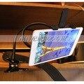360 Graus de Rotação Titular Tablet PC Estande Estande Cama Suporte Preguiçoso Clipe Tab Livremente Ajustável 7 ''-10.1'' tablet Frete Grátis