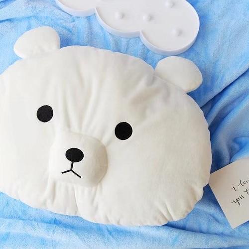 candice guo! Super cute plush toy lovely bear polar bear soft cushion warm air conditioning blanket birthday Christmas gift 1pc