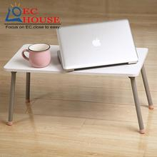 Bed notebook comter desk, folding lazy simple party hostel artifact bedroom Kang edge book size table FREE SHIPPING