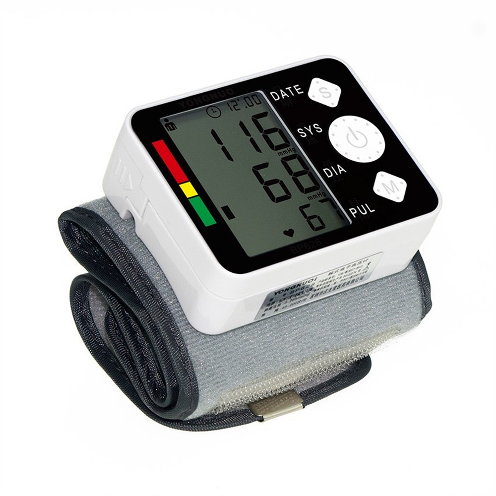Automatic Blood Pressure Monitor Large LCD Digital Sphygmomanometer Health Care Heat Rate Monitor Arm Adult Blood Pressure Cuff  (3)
