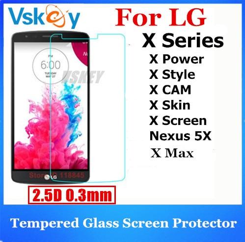 bilder für 20 stücke 2.5D Gehärtetem Glas Für LG X Power 2 Bildschirm Haut Cam Stil Max/Nexus 5X Displayschutzfolie Anti-Shatter Schutzfolie
